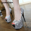extreme high heels red wedding shoes platform heels summer shoes woman high heel pumps women party shoes for women pumps Y979
