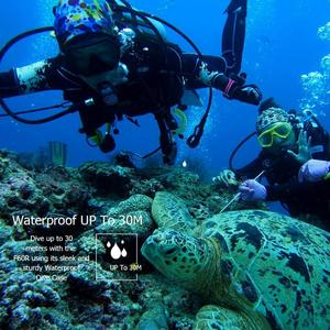 Image 3 - חדש F60R 4K WIFI מרחוק פעולה מצלמה 1080P HD 16MP 170 תואר רחב זווית 30m Waterproof ספורט DV מצלמה לgopro קידום