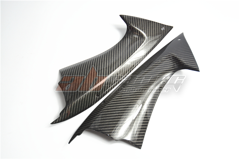 Intake Dash Panel Air Duct  Cover Fairing For Yamaha YZF R6 2008 09 10 11 12 13 14 15 2016 Full Carbon Fiber 100% Twill