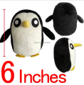 NEW HOT ! 1pcs Toy Anime Adventure Time Ice King Kids Animal penguin soft figure plush doll 14cm