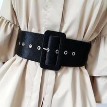 New Design Wide belt female dress belts decorate waistband f