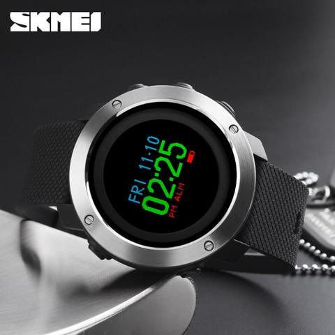 Relógio de Topo Relógios ao ar Skmei Novo Esporte Digital Relógio Masculino Pedômetro Caloria Livre Pulseira Reloj Hombre