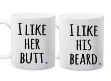 Und ihn kaffeetasse, ich wie ihr butt, bart Kaffee tassen Tassen abziehbild wein mugen whisky bier keramik becher