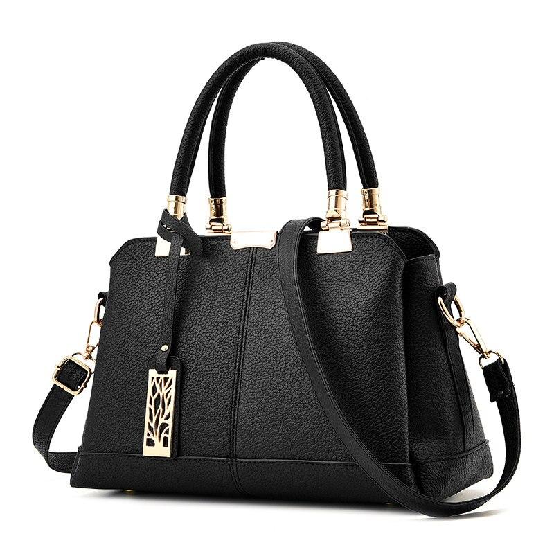 2017 Luxury Women PU Leather Handbags Famous Designer Brand Female Messenger Bags Cross-body Briefcase Kabelky Bolsos Mujer Saco