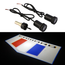 AEING 2pcs Welcome Ghost Shadow Lights LED Courtesy Door Projector Lamps fit For CHEVROLET CAMARO