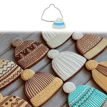 New Hat Sweater Mold Cookie Cutter Fondant Christmas Cake Decor Cupcake Pastry Biscuit Mould DIY Birthday Bakeware Cake Tool
