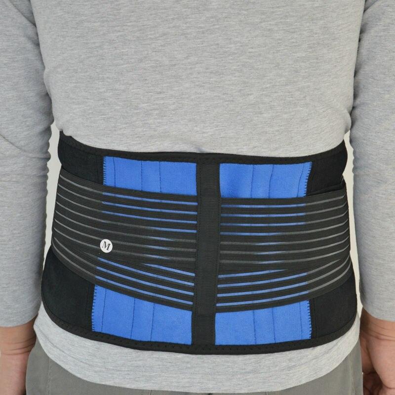2017 neoprene waist support adjustable sports waist protector men and women waist trimmer belt lumber belt brace big size XXXXL