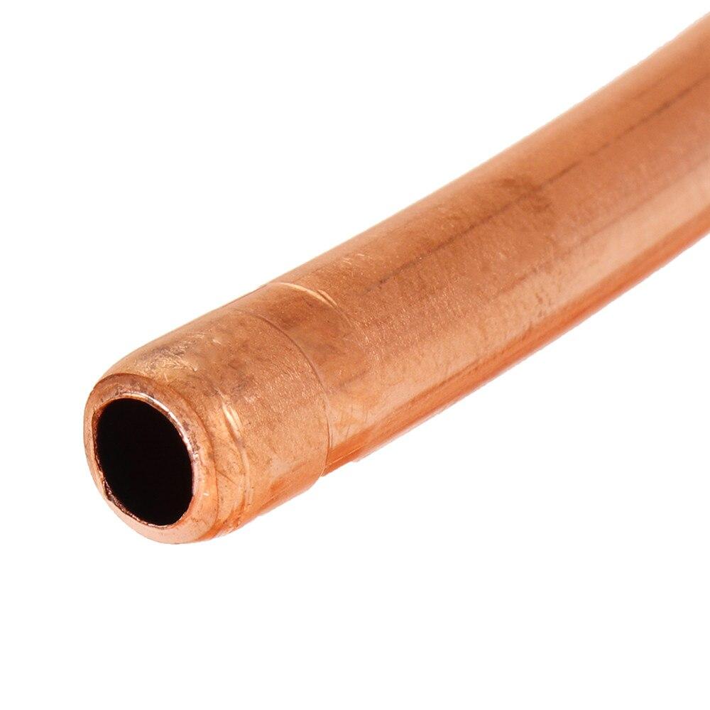 5/16 pouce diamètre 5m bobine souple cuivre laiton Tube tuyau climatiseur tuyau de cuivre réfrigérant gaz Tube bricolage refroidissement - 6