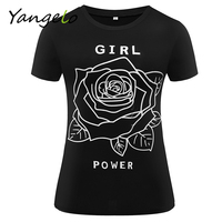Summer Women T Shirt Girl Power Shirt Feminist T Shirt Feminism Tee Women S Movement Women