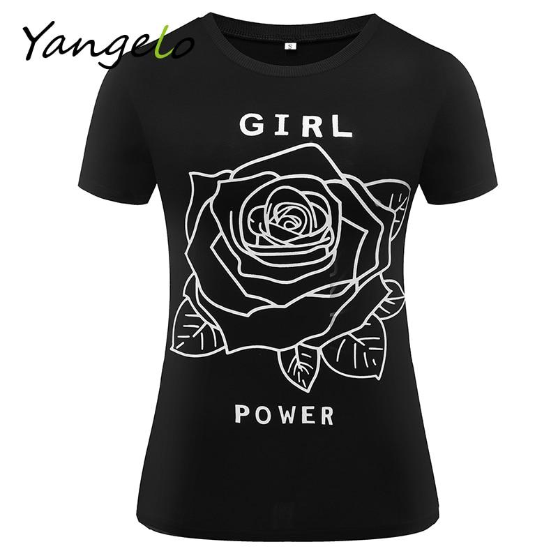 26a993200 Summer Women T Shirt Girl Power Shirt Feminist T Shirt Feminism Tee Women's  Movement Women's Clothing Tumblr