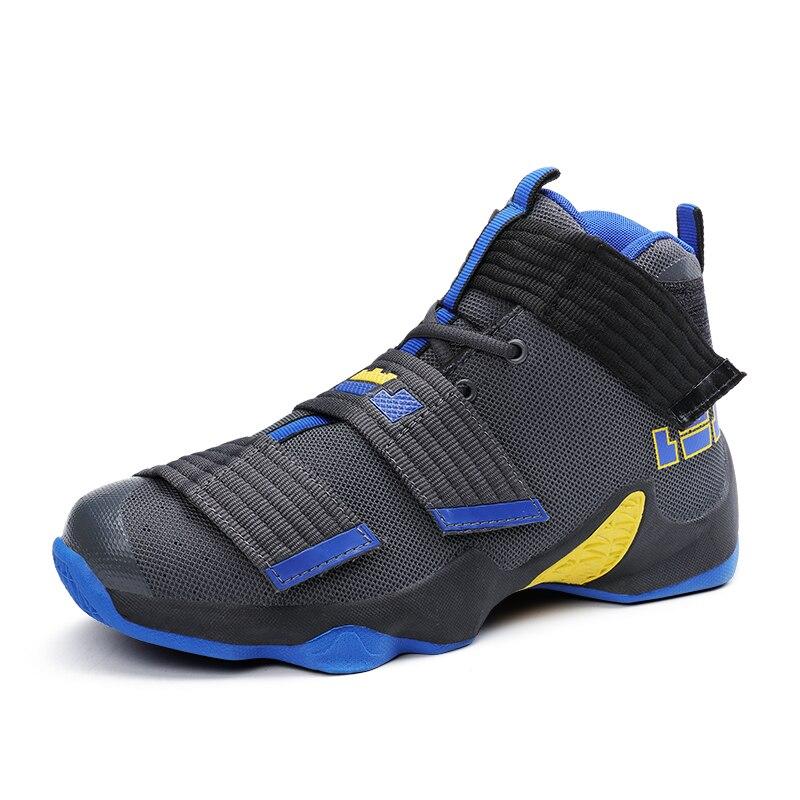 Basket chaussures pour hommes femmes coussin d'air sport baskets haut hommes chaussures Basket Femme Hombre Zapatillas lumière Mix couleur