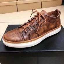 Genuine leather handmade antique support customization