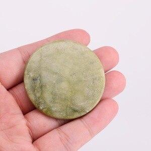 Image 2 - ขายส่งราคา50ชิ้น/ล็อตขนตาเครื่องมือแต่งหน้าธรรมชาติถาดคอนเทนเนอร์รอบหยกหินขนตากาวเครื่องมือช้ากาวให้แห้ง