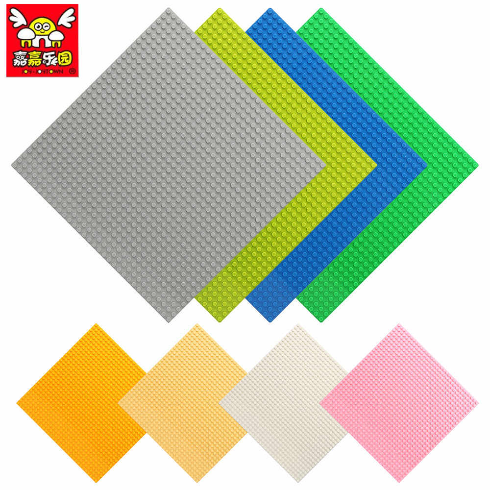 8 Colors 32*32 Dots Base Plate For Small Bricks Baseplate Board DIY Building Blocks Legoinglys Compatible Brick Toy For Children