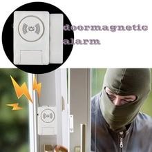 Wireless Home Security Door Window Alarm Warning System Magnetic Door Sensor Independent Alarm Wireless Open Door