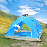 Outdoor ZP 05A Multiperson Double Layer Automatic Tent Professional Windbreak Camping Hiking Travel Tent Waterproof Tents Tienda