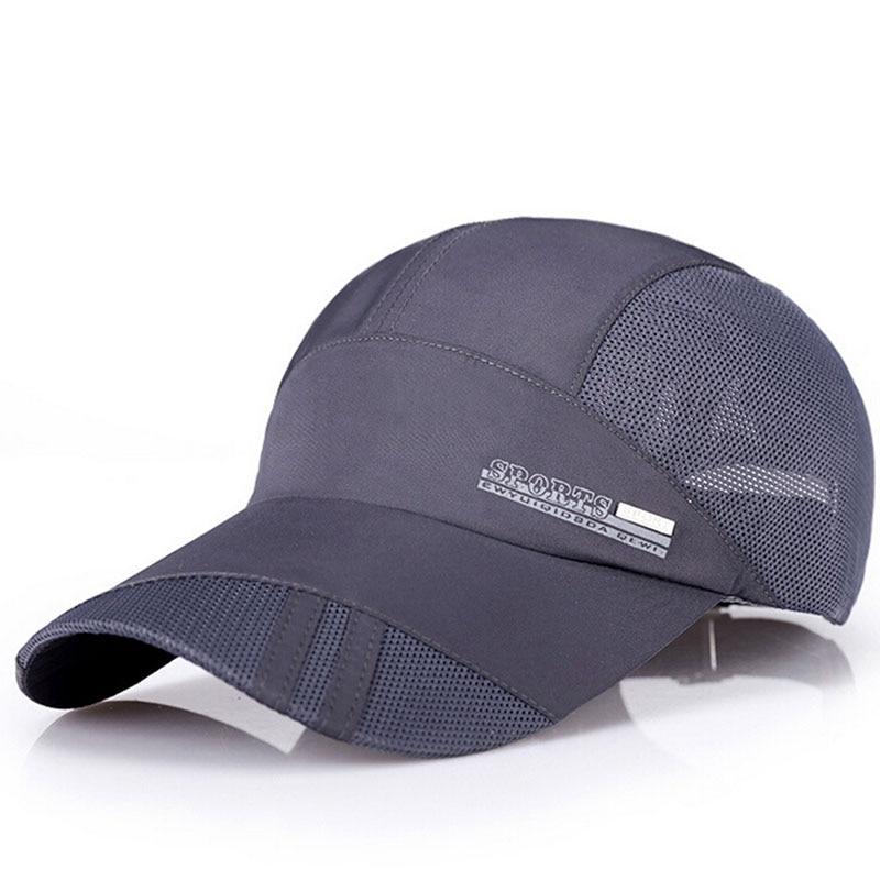 Nové letní pánské prodyšné síťované čepice Baseballové - Příslušenství pro oděvy - Fotografie 3