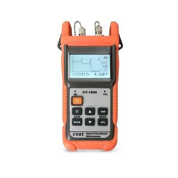 Fibra óptica guardabosques MINI OTDR CY-190S CY190S Localizador Visual de detección de fallos y posicionamiento instrumento