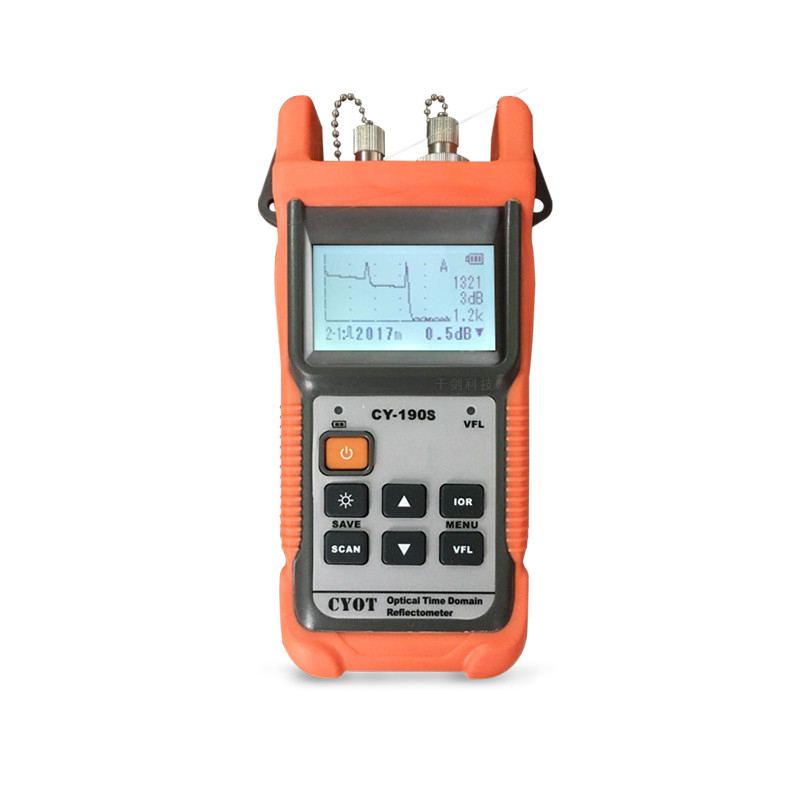Optical Fiber Ranger MINI OTDR CY-190S CY190S Visual Fault Locator Fault Detection And Positioning Instrument