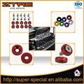 Jdm anilhas fender alumínio para honda integra rsx ek (10 pacote) arruelas e parafuso