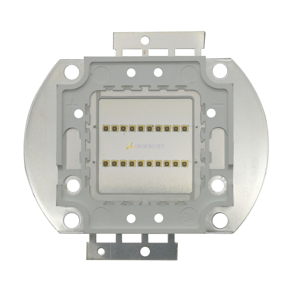 20W Infrared IR <font><b>730NM</b></font> 850NM 940NM High Power Multichip Intergrated LED lamp Light 15-17V 700MA Epiled 45mil Chip image