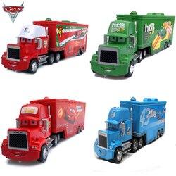 Металлический тяжелый грузовик 1:55 Disney Pixar «Тачки 2», игрушка Молния Маккуин, дядюшка Джимми, король, модель из сплава, игрушки, автомобиль, по...