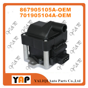 New High Quality Ignition Coil FOR FIT VW Golf Passat 1.9L 2.0L L4 867905105A 701905104A 701905104 1990-1999