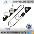 Cars Window regulator of VW T5 MULTIVAN CARAVELLE ELECTRIC SLIDING DOOR REPAIR KIT RIGHT SIDE * NEW