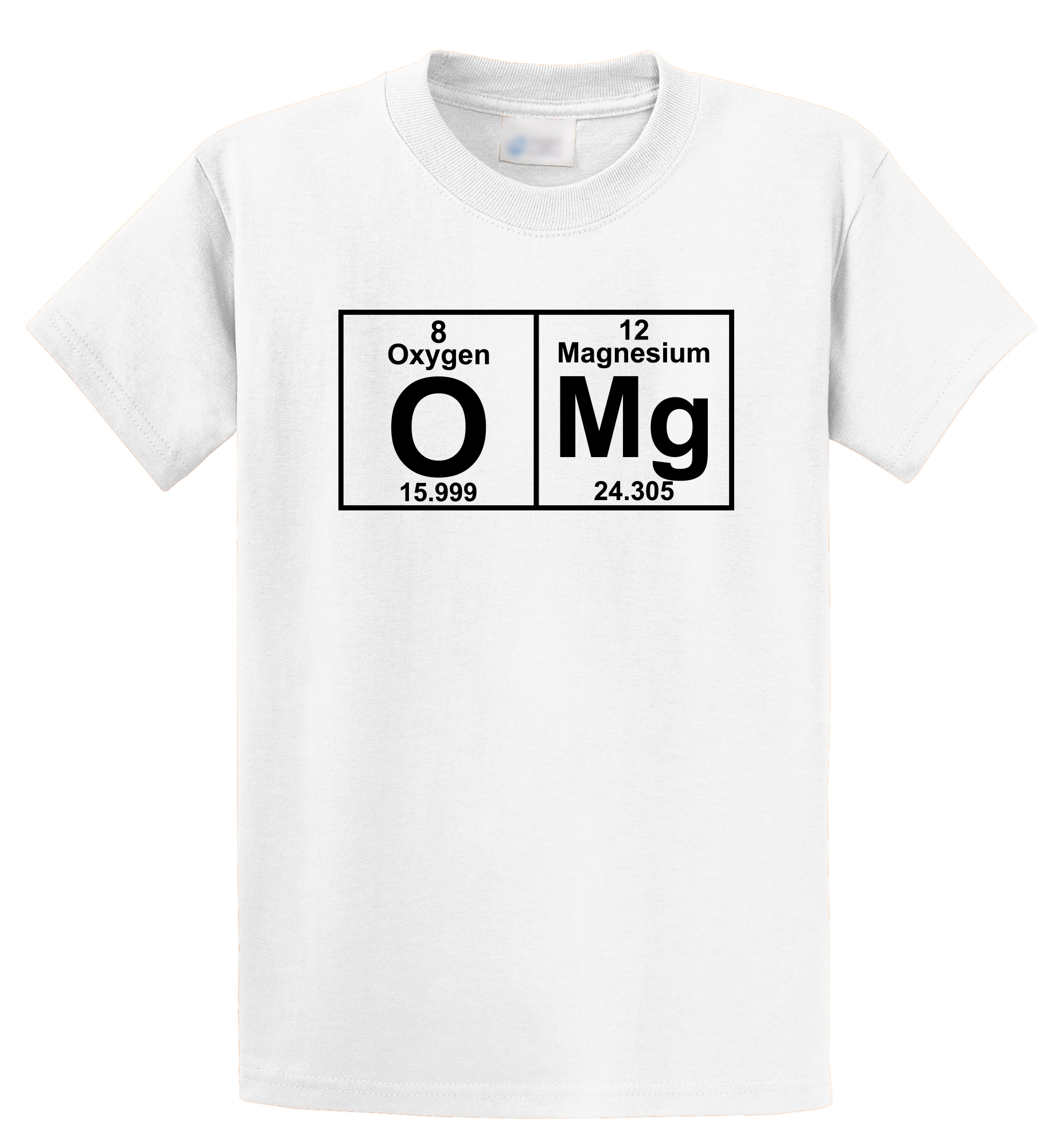 Funny Graphic T Shirts Regular Omg Periodic Table Cute