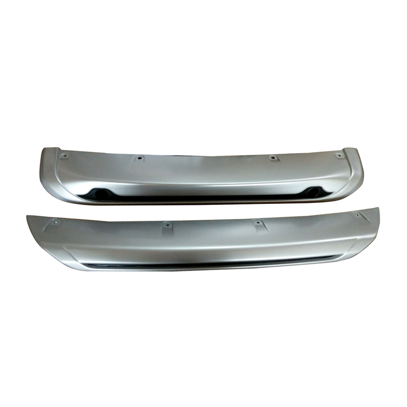 2pcs ABS Front&Rear Bumpers Skid Bumper Cover Protector Molding For Nissan Qashqai Dualis 2014 2015 2016