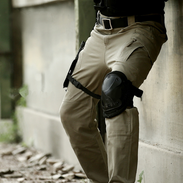 IX9 Tactical Men Pants Combat Trousers Army Military Pants Men Cargo Pants For Men Military Camouflage Style  Casual Pants  XXXL
