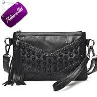 Fashion Tassel Women S Bags Luxury Fringed Handbags Genuine Leather Women Messenger Bag For Girls Crossbody