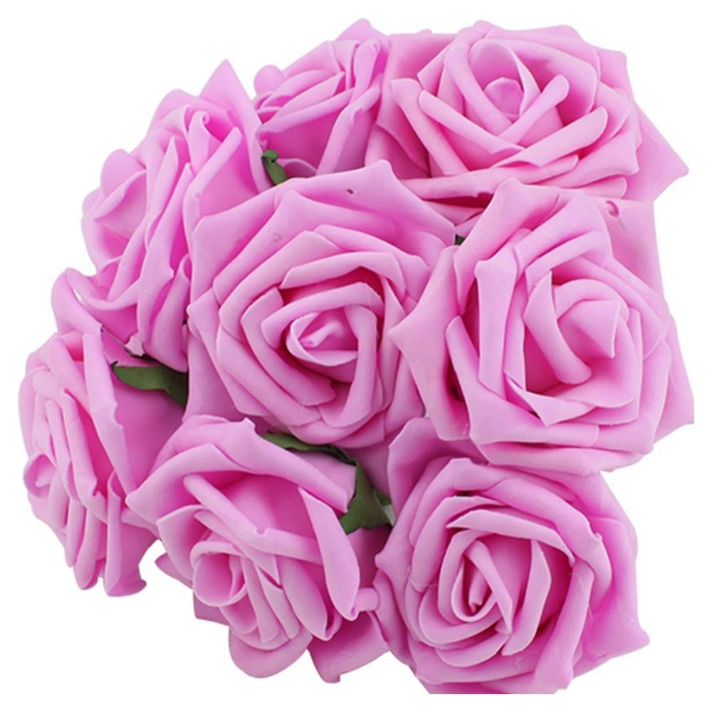 NºPhfu belleza nupcial Rose flores decoración de la dama de honor de ...