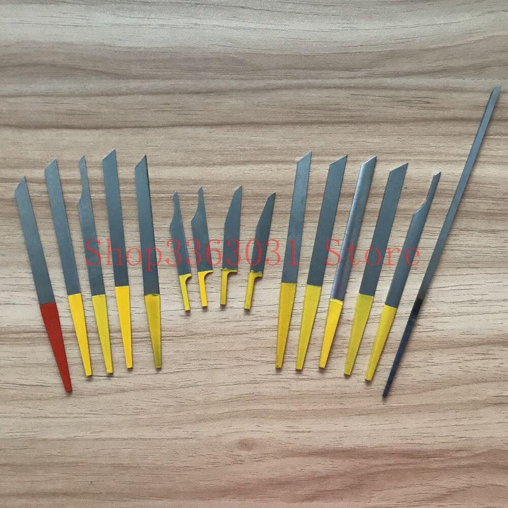 15 pcs/lot gravure couteau bijoutiers HS Graver gravure graveur max graveurs