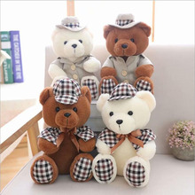 Lovely Couple Teddy Bear Short Plush Toy Stuffed Animal Plush Doll Children Gifts Wedding Gift стоимость