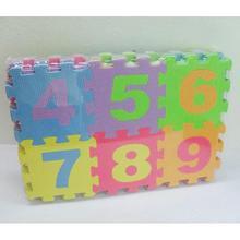 36 unids Suave de Espuma EVA Bebé Niños Kids Play Mat Alfabeto Número Rompecabezas Rompecabezas
