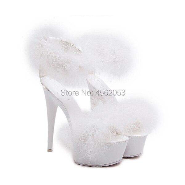 Fur Sandals Women|High Heels