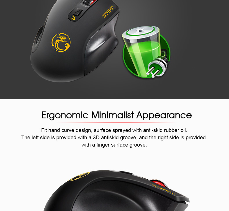 iMice Wireless Mouse 4 Buttons 2000DPI Mouse 13