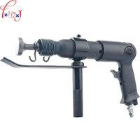 Pneumático portátil máquina de tubulação do duto de ferro comum AH-190HF pneumática máquina de tubo quadrado de ferro comissura