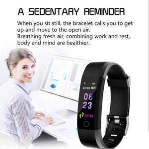 Image 4 - Nova pulseira inteligente smartwatch, pulseira inteligente, monitor de freqüência cardíaca e pressão arterial, monitor de fitness, pedômetro, pulseira para android, xiaomi, huawei, telefone ios