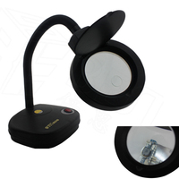 10X 5X Magnifying Glasses Magnifier With LED Light Loupe Vergrootglas for Precision Motherboard Repair Tools