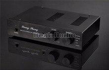 Latest Music Hall USB DAC Audio Decoder Stereo D/A Converter Tube Headphone Amplifier HiFi Pre-Amp