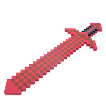 Newest Minecraft font b Toys b font High Quality Red Minecraft Sword font b Action b