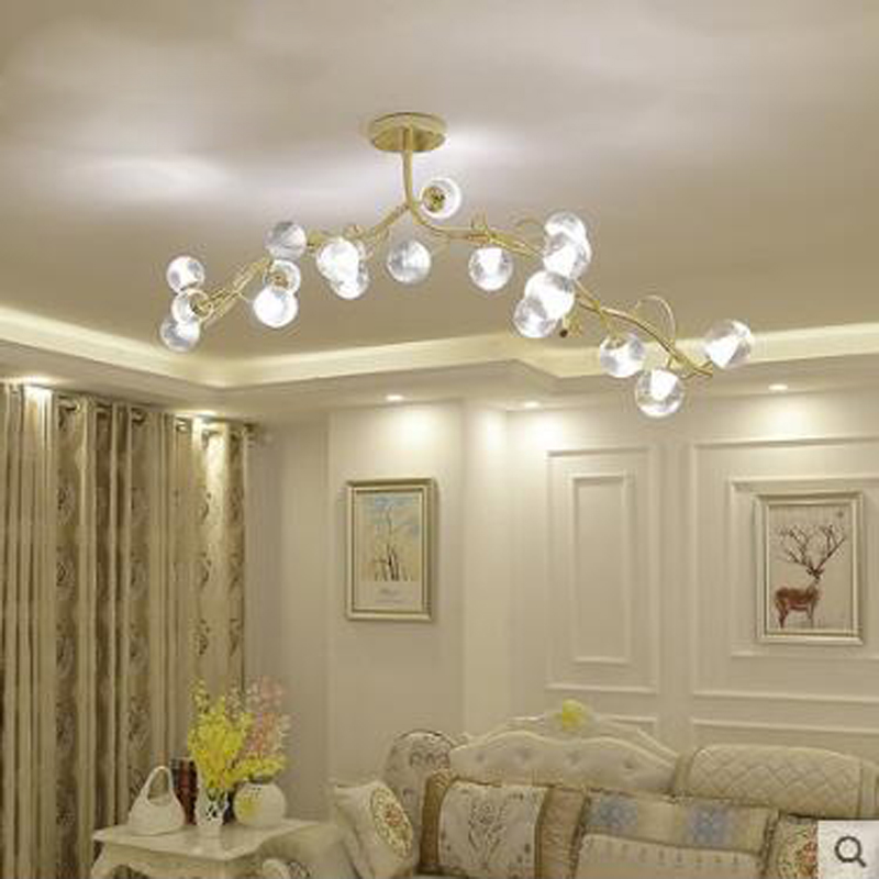 Postmodern minimalist living room Nordic creative art restaurant bar chandelier designer personality chandelier lamp LED fixture 6 e27 heads nordic post modern designer originality personality art living bed room cafe fashion led chandelier home decor light