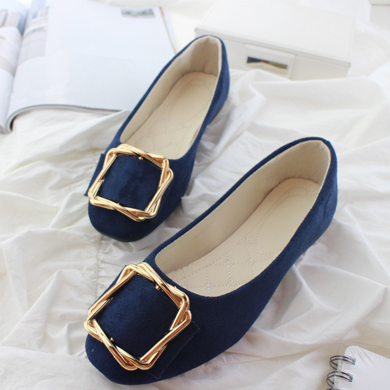 Big Size Women Flats Shallow Candy Color Shoes Woman Loafers Autumn Fashion Sweet Flat Casual Shoes Women Plus Size 35-42 6