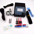 1set High Quality Complete Tattoo Kit Set Equipment Machine Power Supply gun Color Inks Tattoo needles and Pen