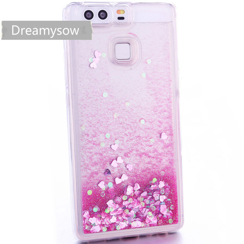Cellphones & Telecommunications For Huawei P10 Lite P10 Plus P9 Plus P9 Lite Case P8 P8 Lite Phone Case Dynamic Liquid Glitter Sand Soft Tpu Silicone Cover Phone Bags & Cases