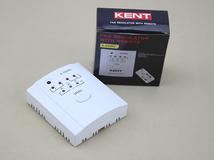 New 1pc 555rc Ceiling Fan Speed Controller Remote