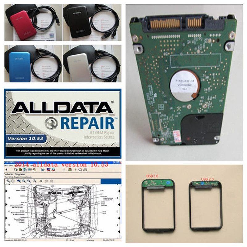 2016 alldata 10.53 and Mitchell 2015 1tb Auto Repair Software Vividwork Mithcell Manager Plus 49 softwares together