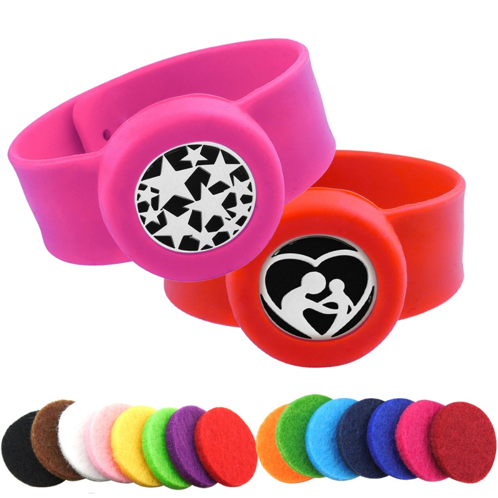 ZP-BS910-0 Silicone Diffuser Locket Bracelet-9